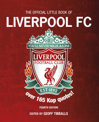 The Official Little Book of Liverpool FC by Chris Welch image