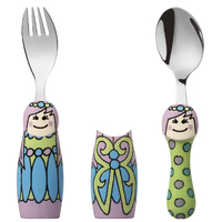 Eat4Fun Duos Cutlery Set (Fairy Princess)