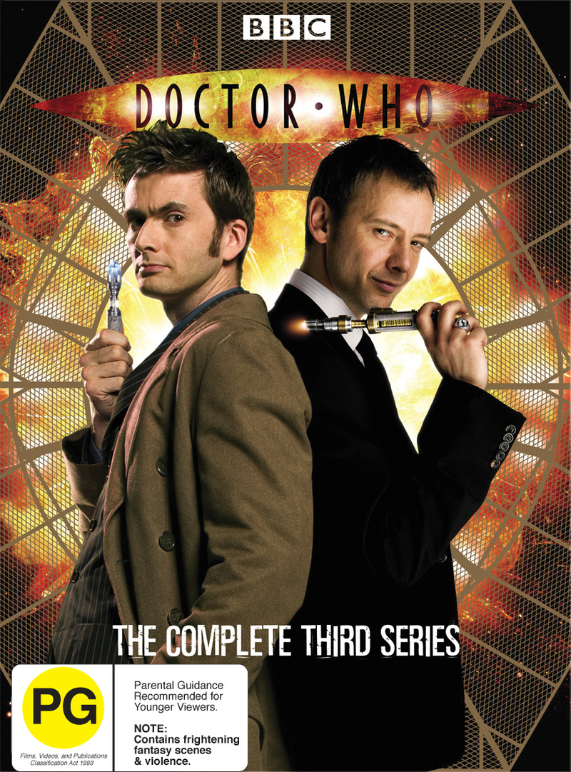Doctor Who (2007) - Complete Series 3 (6 Disc Set) on DVD image