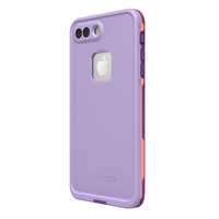 LifeProof Fre Case for iPhone 7 Plus/8 Plus - Purple Rose Coral