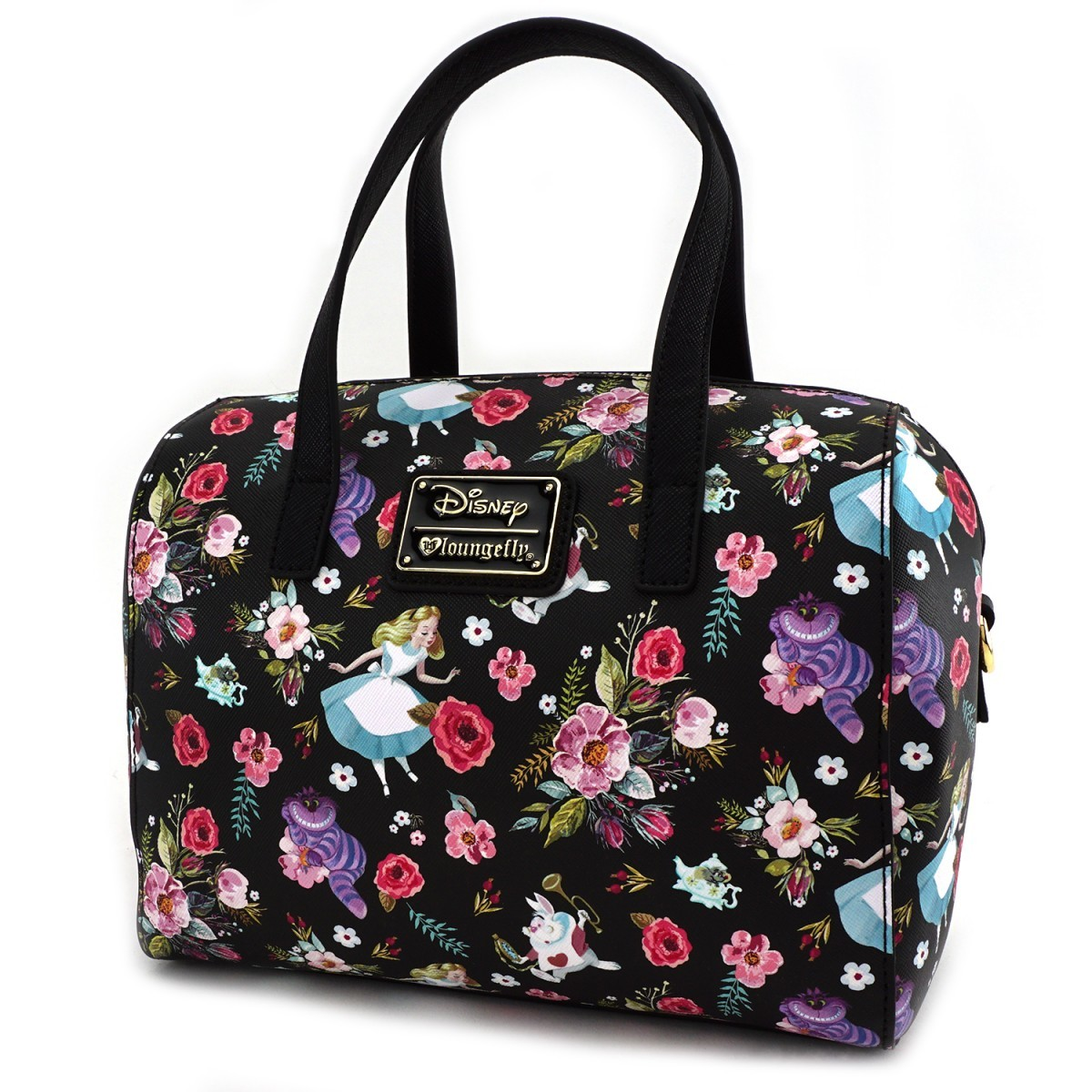 alice floral characters duffle bag women 39 s at mighty ape nz. Black Bedroom Furniture Sets. Home Design Ideas