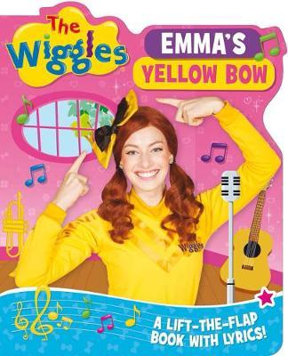 The Wiggles Lift-the-Flap Books with Lyrics: Emma's Yellow Bow by The Wiggles image