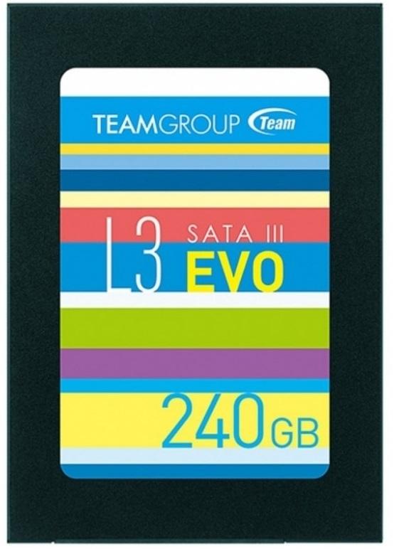 "240GB Team L3 EVO SATA III 2.5"" SSD image"