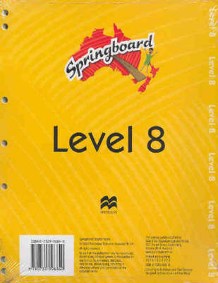 Springboard Level 8A Teacher Pack image