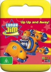Lunar Jim - Up Up And Away! on DVD