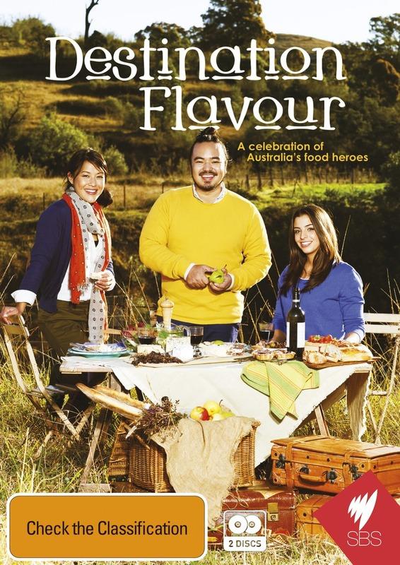Destination Flavour on DVD