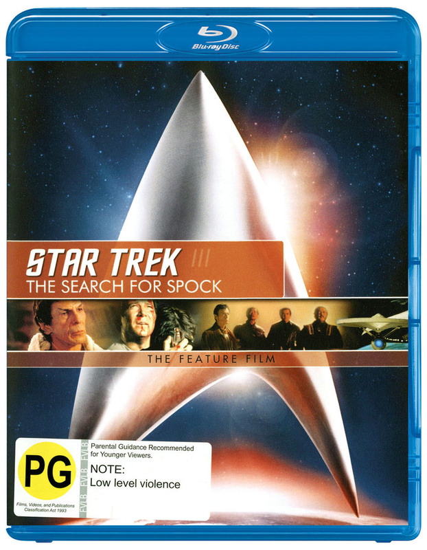 Star Trek III: The Search For Spock - The Feature Film on Blu-ray