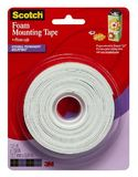 Scotch Foam Mounting Tape 12.7mm x 3.81m