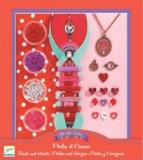 Djeco Design Pearls & Hearts Beads
