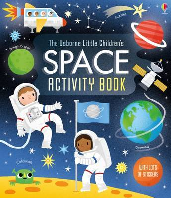 Little Children's Space Activity Book by Rebecca Gilpin image