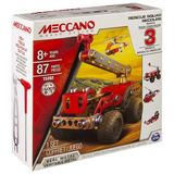 Meccano: 3 Model Starter Set - Rescue Fire Truck