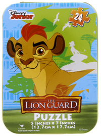 Capsule Puzzle Tin - The Lion Guard