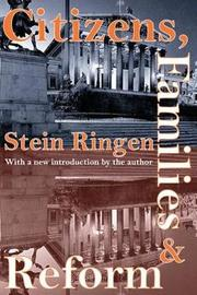 Citizens, Families, and Reform by Stein Ringen