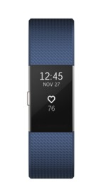Fitbit: Charge 2 Heart Rate + Fitness Wristband - Small (Blue) image