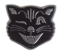 Sourpuss: Kustom Kreeps - Cat-Face Enamel Pin