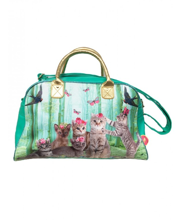De Kunstboer: Sports Bag - Cats