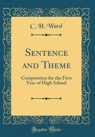 Sentence and Theme by C.H. Ward image