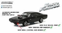 1/43: Dodge Charger- Fast & Furious - Diecast Model