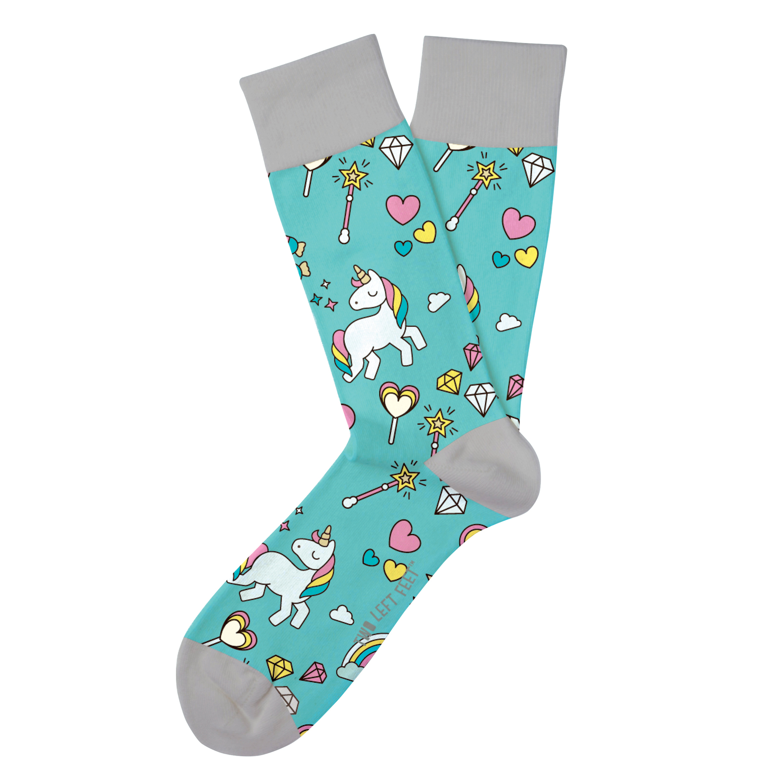 Two Left Feet: Sparkle All Day Everyday Socks - Big image