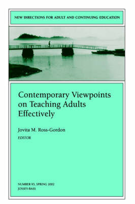 Contemporary Viewpoints on Teaching Adults Effectively image
