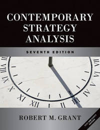 Contemporary Strategy Analysis and Cases: Text and Cases by Robert M Grant image