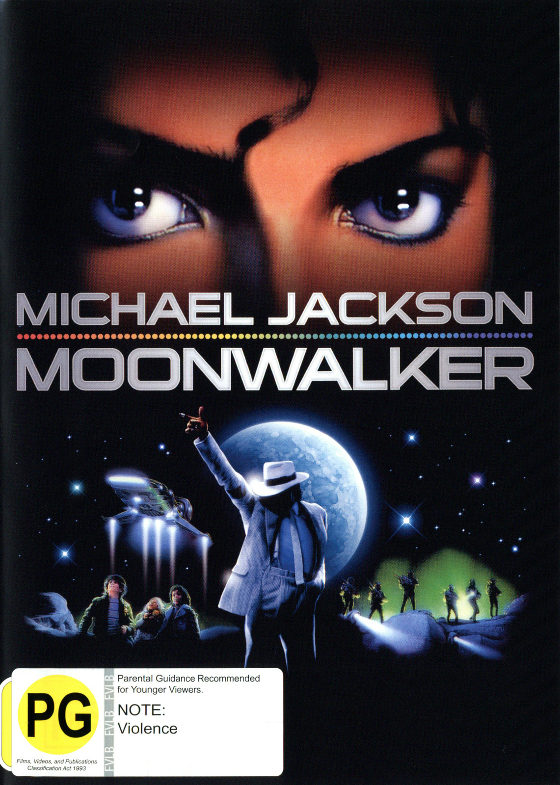Michael Jackson - Moonwalker on DVD image