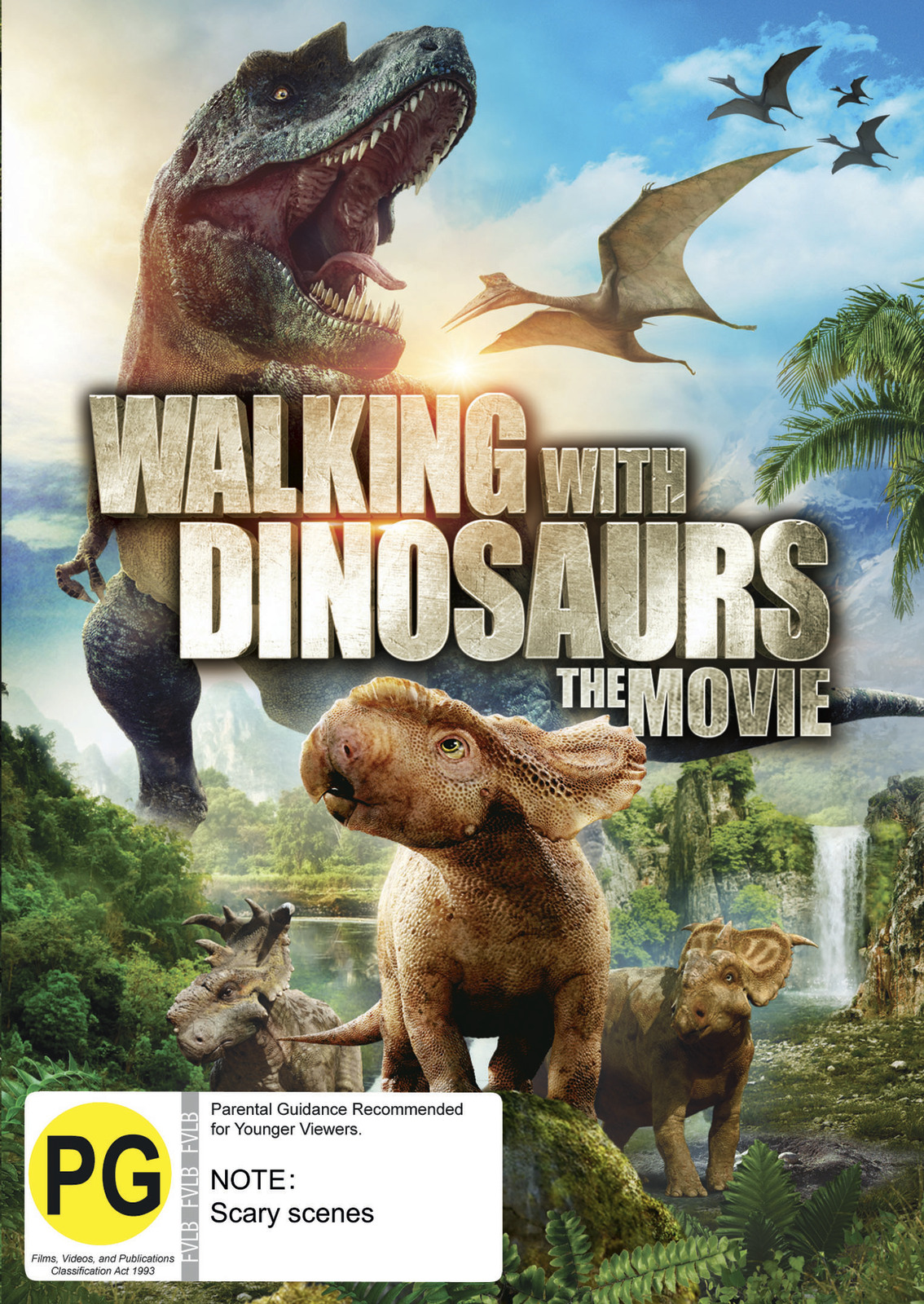 Walking with Dinosaurs on DVD image
