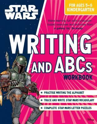 Star Wars Workbook: Writing and ABCs (Kindergarten)