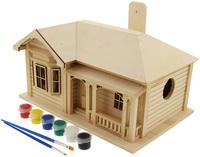 Paint Your Own Villa Birdhouse