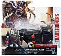 Transformers: The Last Knight: 1-Step Turbo Changer (Decepticon Berserker)