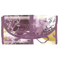 Papaya Cosmetics Travel Organiser - Plum Watercolour