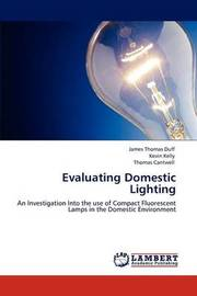 Evaluating Domestic Lighting by James Thomas Duff