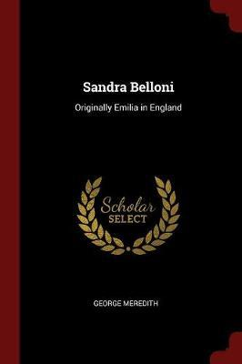 Sandra Belloni by George Meredith image