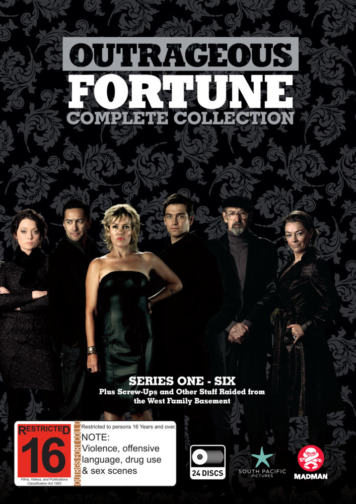 Outrageous Fortune - Complete Collection on DVD image
