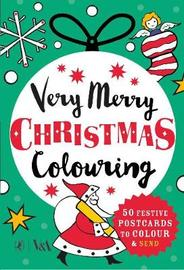 Very Merry Christmas Colouring by Puffin image