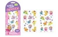 Peaceable Kingdom: Scratch & Sniff Stickers - Flower Fairies image