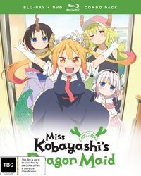 Miss Kobayashi's Dragon Maid Complete Series on Blu-ray