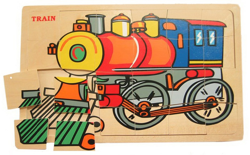 Fun Factory: Train Jigsaw Puzzle image