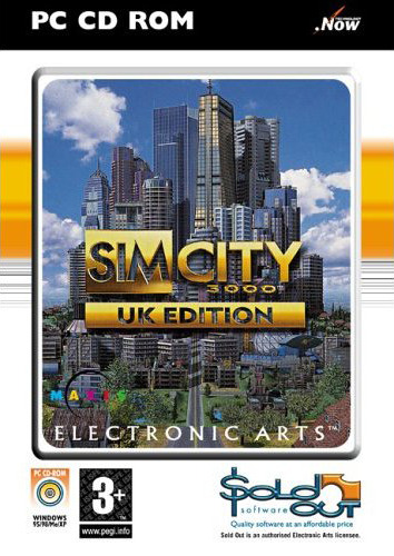 Sim City 3000 for PC Games