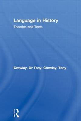 Language in History by Tony Crowley image