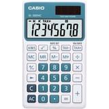 Casio Handheld Calculator - Blue
