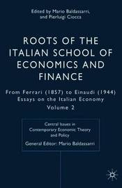 Roots of the Italian School of Economics and Finance image