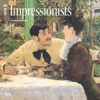 Impressionists 2018 Square Wall Calendar