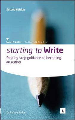 Starting to Write by Rennie Parker image
