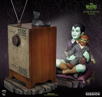 "The Munsters: Eddie Munster & TV - 6.5"" Maquette Statue"