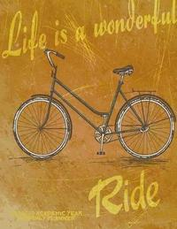 Life is a Wonderful Ride 2019-2020 Academic Year Monthly Planner by Laura's Cute Planners