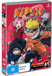 Naruto (Uncut) - Vol. 01: Enter The Ninja on DVD