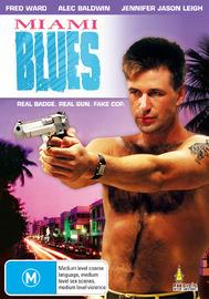 Miami Blues on DVD