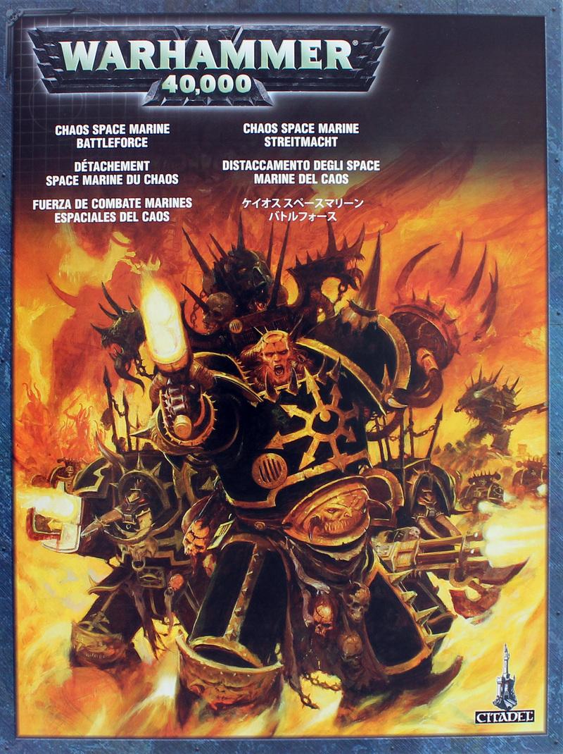 Warhammer 40k Chaos Space Marines Battleforce At Mighty Ape Australia Battle Force 40000 Image