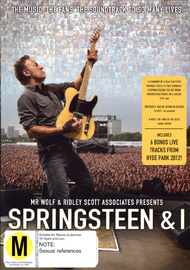 Springsteen & I on DVD